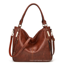 Wholesale Hand Bags From China Brand Woman Handbag Lady Fashion Genuine Leather Luxury Girls Shoulder Tote for Women Bag
