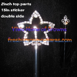 Star Shaped Pageant Scepter
