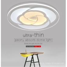 Lámpara de techo de cristal de LED