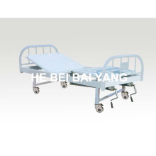 a-132 Movable Double-Function Manual Hospital Bed