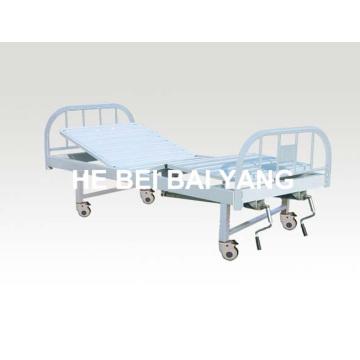 A-132 Movable Double-Function Manual Больничная кровать