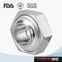 Aço inoxidável 3A / Rjt / Idf Hex tipo União de classificação sanitária (JN-UN3004)