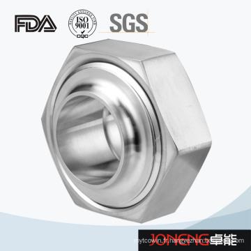 Acier inoxydable 3A / Rjt / Idf Hex Type Union de qualité sanitaire (JN-UN3004)