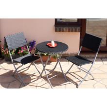 Cheap Folding Tea Dining Rattan Outdoor Furniture