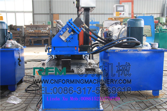 Light T Bar Steel Roll Forming Machine