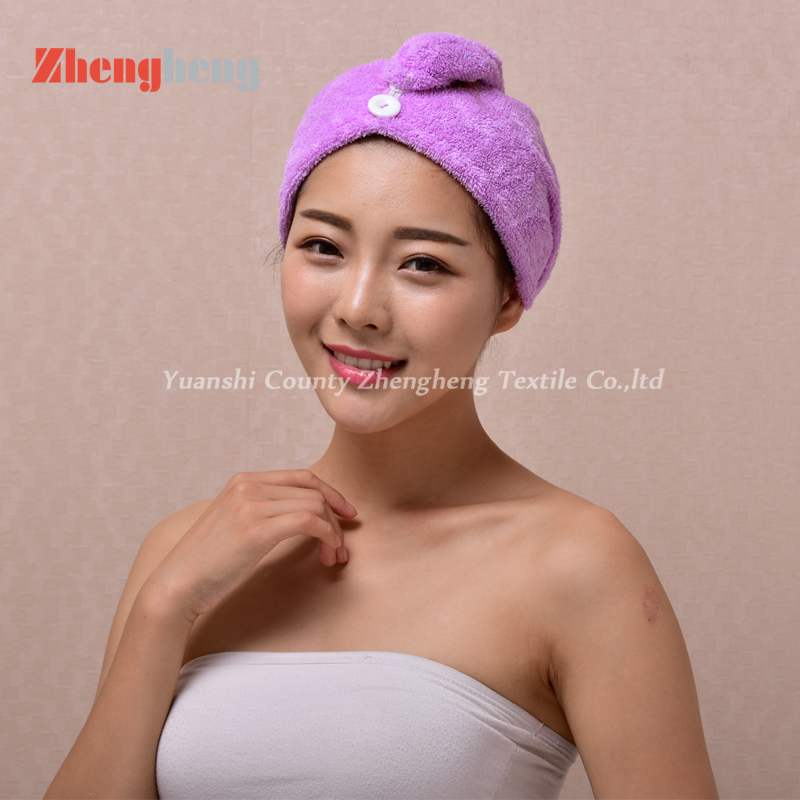 Coral Fleece Hair Cap (4)