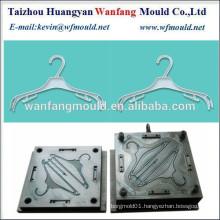 transparent clothes hanger mould making/plastic coat hanger injection mould
