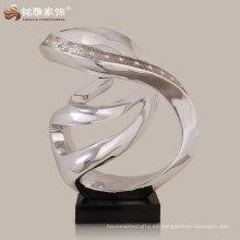 bar de hotel mesa de recepción decoración de alta calidad resina estatua abstracta a mejor precio