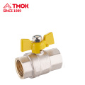 High quality FxM brass forging gas valve