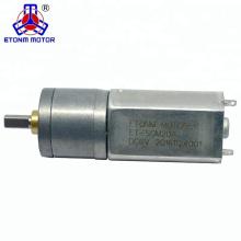 20mm High Range Speed ET-SGM20-A DC Gear motor 3V