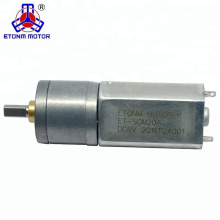 20mm de Alta Velocidade de Alcance ET-SGM20-A DC Motor de Engrenagem 3 V