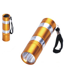 Dry Battery Aluminum Flashlight (CC-011)