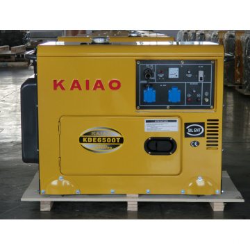5kVA insonorizado gerador diesel set 6500t elétrica start soundproof gerador