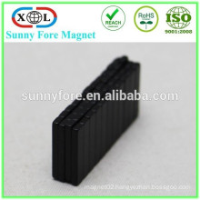 thinner block neodym magnet black epoxy