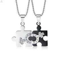 Nueva joyería colgante masculina y femenina de plata, colgante con símbolo masculino y femenino