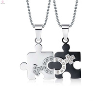 New silver male and female pendant jewelry,male and female symbol pendant