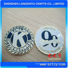 Moneda conmemorativa de monedas de esmalte suave Moneda de aniversario (LZY082)