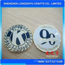 Moeda comemorativa do aniversário das moedas da moeda macia do esmalte (LZY082)