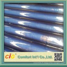 Feuille en plastique flexible de PVC transparent