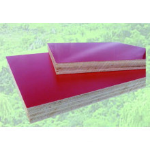 Embossment Melamine Paper Faced plywood