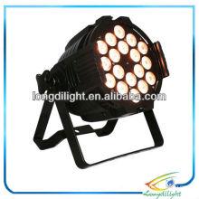 18 x 10W Pro LED lavagem de palco Par rgbaw par can