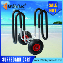 Aluminum SUP surfboard beach trolley stand up paddleboard cart