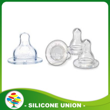 Baby bottle silicone nipple molding with FDA