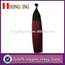 Aliexpress 7a Grade Hot Sale Indian Hair Bulk Dos tonos de color a granel
