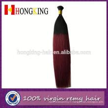 Aliexpress 7a Grade vente chaude cheveux indiens en vrac deux tons de couleur en vrac