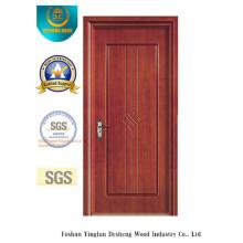 Porte en MDF de style simple pour chambre sans verre (xcl-035)