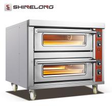 2017 Профессиональный сверхмощный газ с прибором палубе хлеб печь промышленную печь