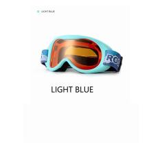 Rockbros Ski Glasses Windproof Double-Layer Lens Protection Anti-Fog Goggles Children Glasses