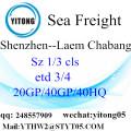 Shenzhen Sea Freight to Laem Chabang