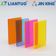 Feuilles acryliques en PMMA extrudé de 0,8 à 6 mm