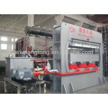 Moldes de MDF máquina de prensa / moldes de madera que hace la máquina