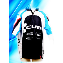 100% Polyester Man′s Mountain Bike Jersey
