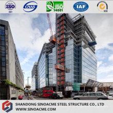 Quadro de estrutura de aço pesado para arranha-céu comercial
