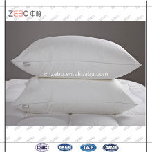 Хлопок 233T Вниз доказательство ткани Microfiber Наполнитель Дешевые шею подушки