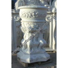 Flower Pot for Garden Stone (QFP134A)