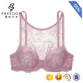 Beautiful sexy desi women lace design high neck 38 bra size breathable underwear bra in photo and images
