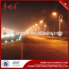 8m galvanized steel street lighting pole