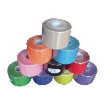 Cinta adhesiva deportiva colorida médica
