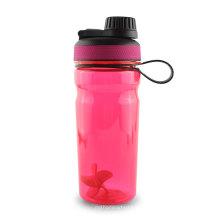 Botella de agua plástica promocional de encargo del deporte de Tritan con la bola Stiring