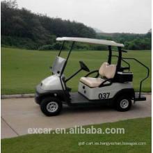 EXCAR 2 plazas barato coche de golf eléctrico para la venta de un solo asiento carrito de golf eléctrico
