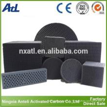 Type Honeycomb Type Filtres à air à charbon actif