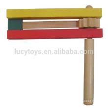 Fabricant de bruit en bois Tiptop Rattle Clacker