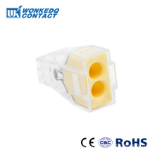 Kabelstecker für Anschlussdose drücken