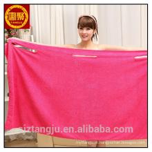 plush macio banho de microfibra vestido de toalha de banho