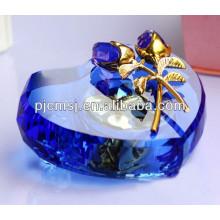 novo produto Moda Crystal Glass Music Box