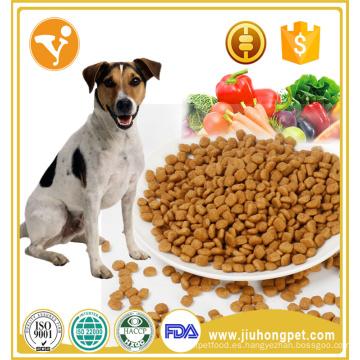 Los fabricantes que venden el sabor del pollo viejo perro seco de alimentos para perros